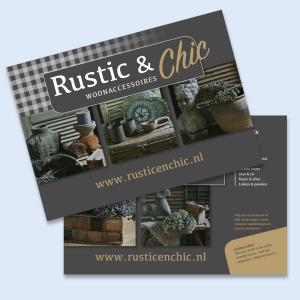 Rustic & Chic flyer