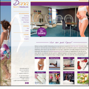 Dana Slimmingcenter website