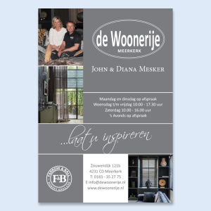 De Woonerije advertenties