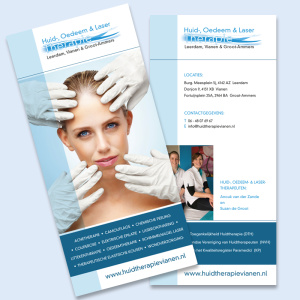 Huid-, Oedeem & Laser Therapie flyer