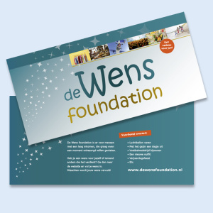De Wens foundation flyer